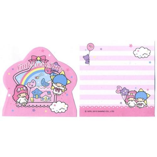 Ano 2013. Kit 3 NOTAS Little Twin Stars Sanrio