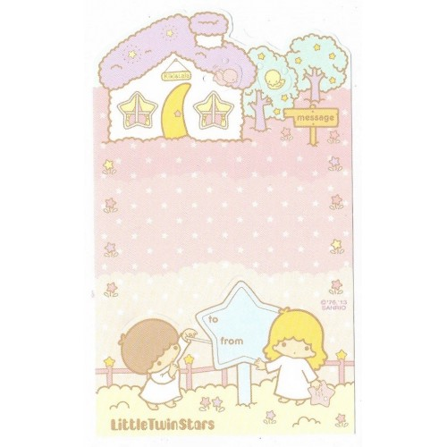 Ano 2015. NOTA DOBRÁVEL Little Twin Stars Sanrio
