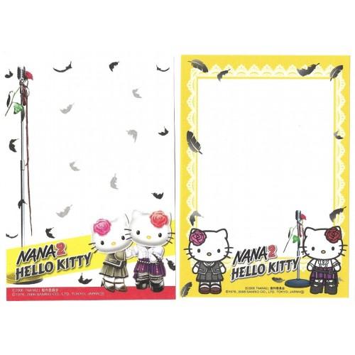 Ano 2006. Kit 2 Notas GOTOCHI Kitty NANA 2 Sanrio
