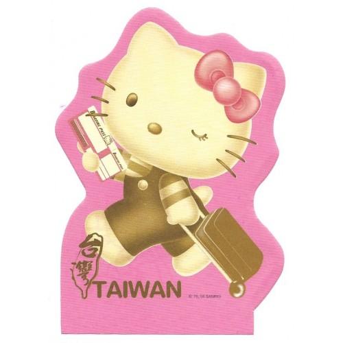 Ano 2008. Nota HELLO Kitty TAIWAN Sanrio