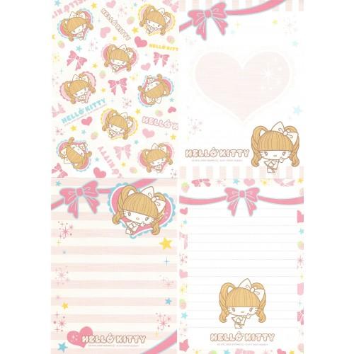 Ano 2009. Kit 4 Notas Hello Kitty Girl Sanrio