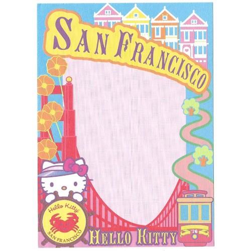 Ano 2003. Nota Hello Kitty San Francisco Grande Sanrio