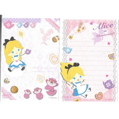 Kit 2 MEMOS Importados Alice Disney Sun-Star