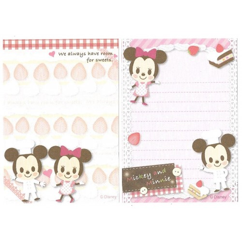 Kit 2 MEMOS Importados Mickey & Minnie Disney Sun-Star