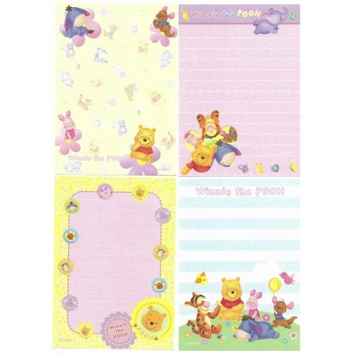 Kit 4 NOTAS Winnie The Pooh Disney Sun-Star