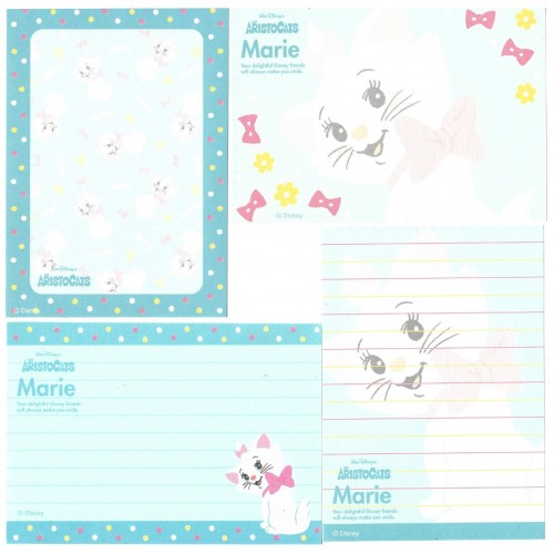 Kit 4 Notas The Aristocats Marie Disney