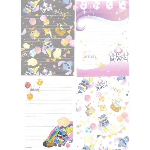 Kit 4 NOTAS Stitch Disney Candy Japan