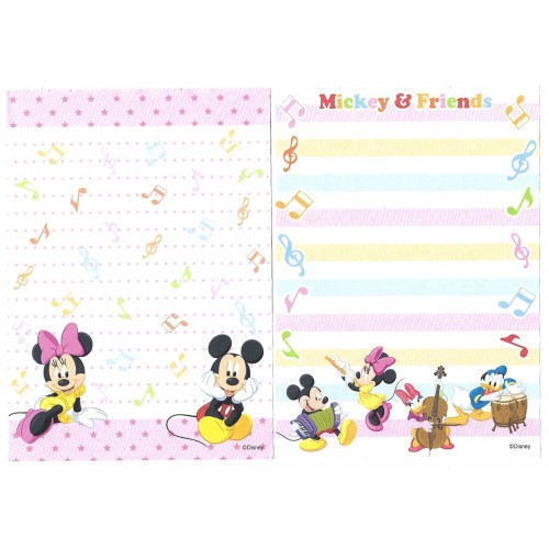 Kit 6 NOTAS Mickey & Friends Disney