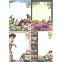 Kit 4 NOTAS Disney-Pixar TOY STORY 3 Sun-Star Japan
