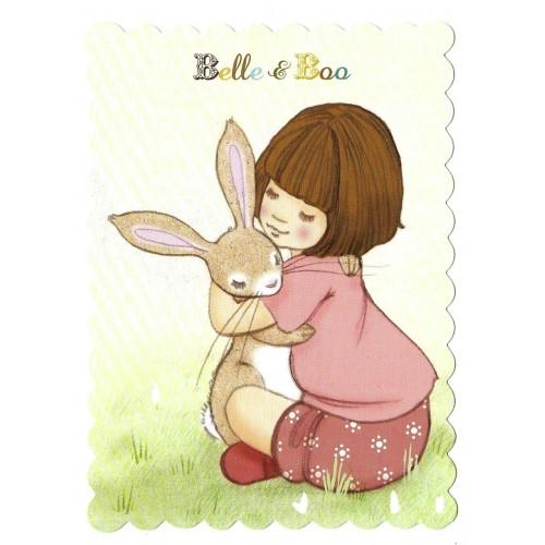 Cartão Postal Belle & Boo