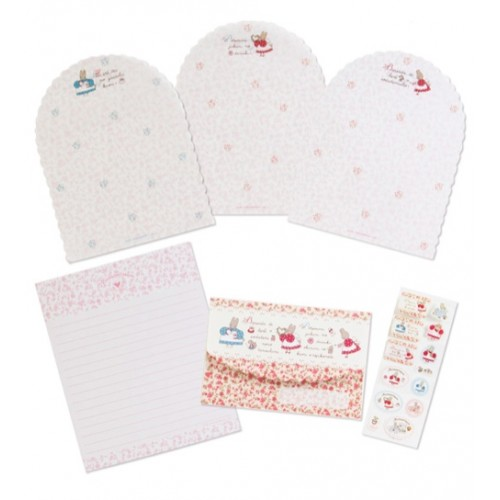 Ano 2018. Conjunto de Papel de Carta Marron Cream Sanrio