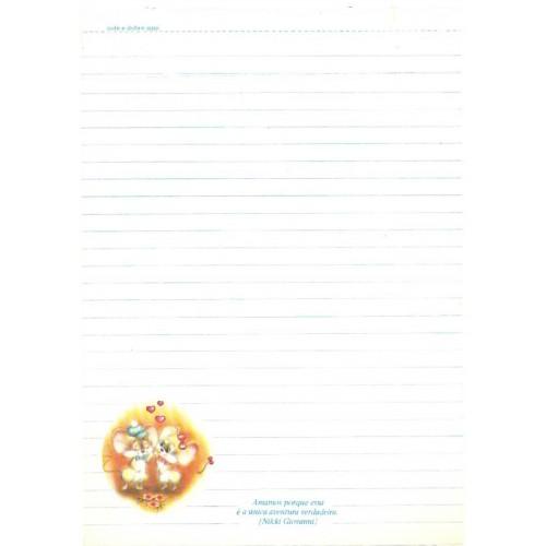 Papel de Carta Coleção TERNURA 15