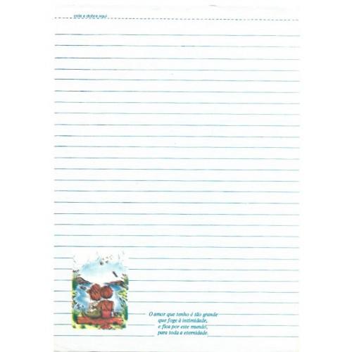 Papel de Carta Coleção TERNURA 17