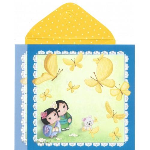 Ano 2019 Ma Tuzi Conjunto de Papel de Carta Coleção Hana Yuki 18