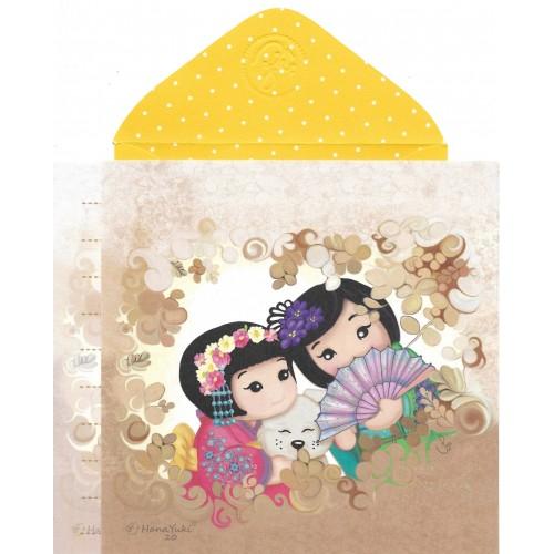 Ano 2019 Ma Tuzi Conjunto de Papel de Carta Coleção Hana Yuki 20