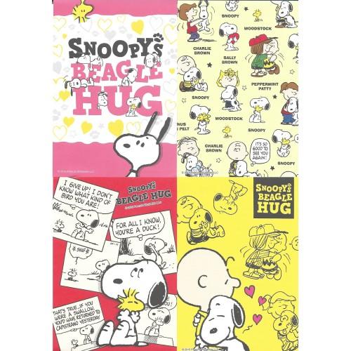 Ano 2015. Kit 8 Notas SNOOPY'S Beagle Hug