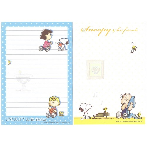 Kit 2 Notas SNOOPY and His Friends