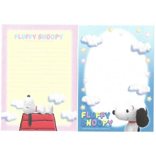 Kit 2 Notas Fluffy SNOOPY 2 Hallmark