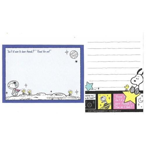 Ano 2015. Kit 2 MEMOS Snoopy Astronaut