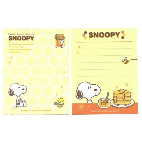 Kit 2 MEMOS Snoopy Sweet Honey Shines