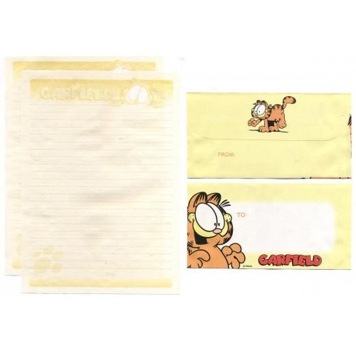 Conjunto de Papel de Carta Garfield CLL