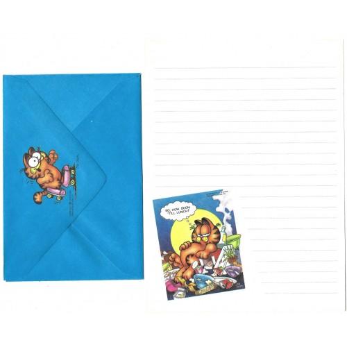 Conjunto de Papel de Carta Avulso Garfield Hungry - Paws