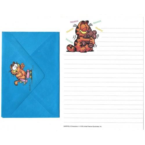 Conjunto de Papel de Carta Garfield Squeeze - Paws