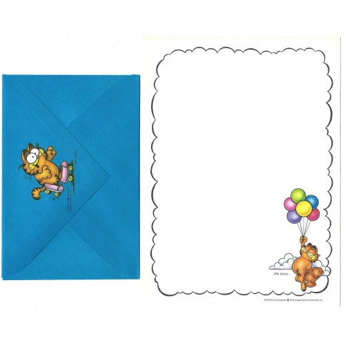 Conjunto de Papel de Carta Avulso Garfield Stick With Me - Paws