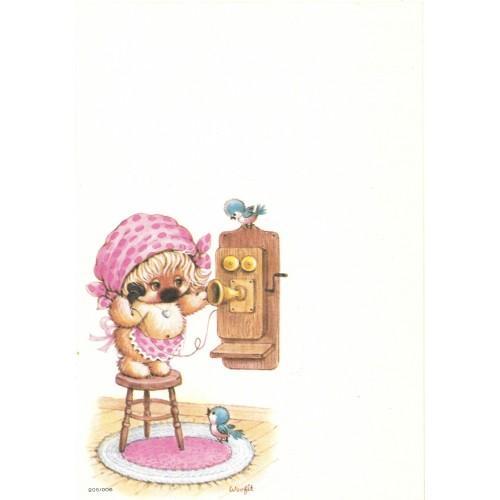 Papel de Carta Antigo Coleção Woofit Fofinhos 205/006