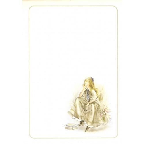 Papel de Carta Julia Médio - 09