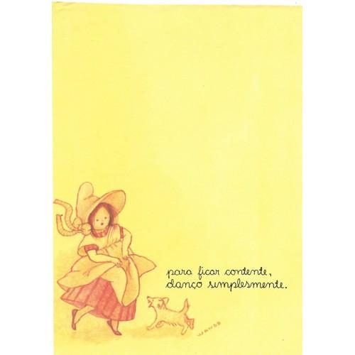 Coleção Wanda CAM2. Papel de Carta Avulso