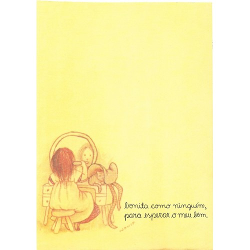 Coleção Wanda CAM4. Papel de Carta Avulso