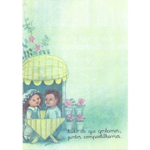 Coleção Wanda CVD6. Papel de Carta Avulso