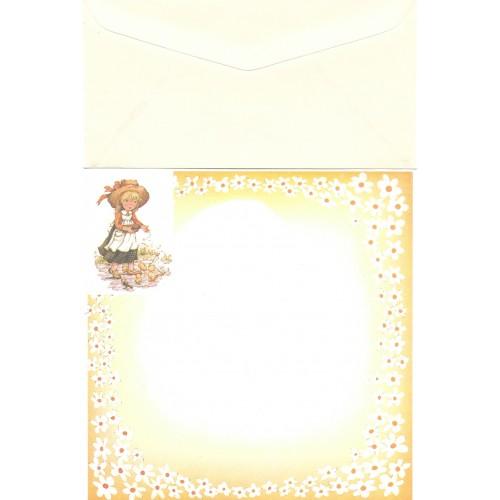 Conjunto de Papel de Carta Antigo Importado Mary May CAM