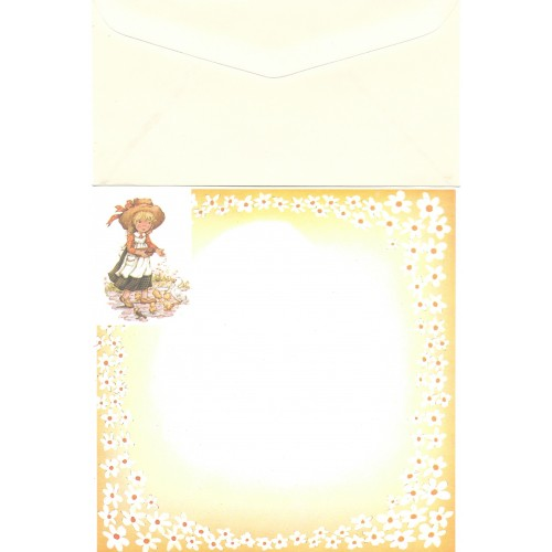 Conjunto de Papel de Carta Antigo Importado Mary May CAM