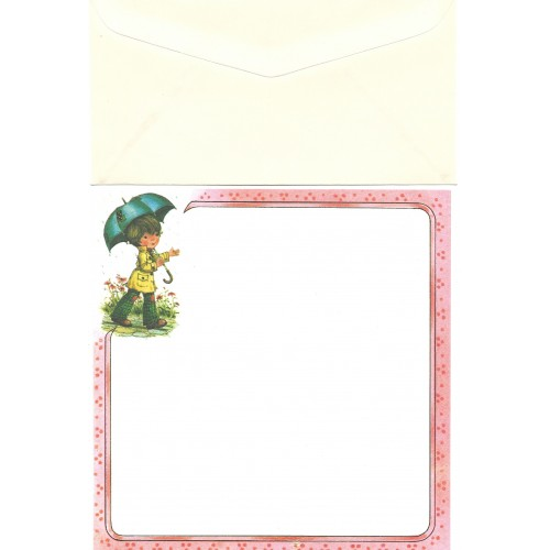 Conjunto de Papel de Carta Antigo Importado Mary May CRS