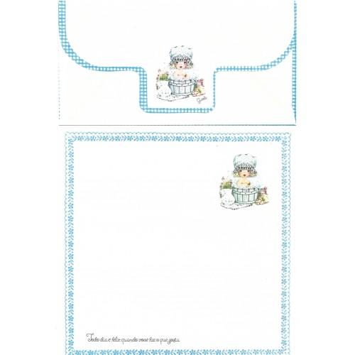 Conjunto de Papel de Carta Coleção Gisele (QAZ)