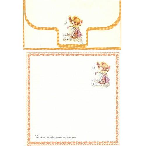 Conjunto de Papel de Carta Coleção Gisele (QLA)