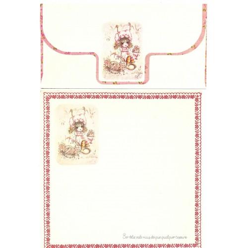 Conjunto de Papel de Carta Coleção Gisele (QRS)