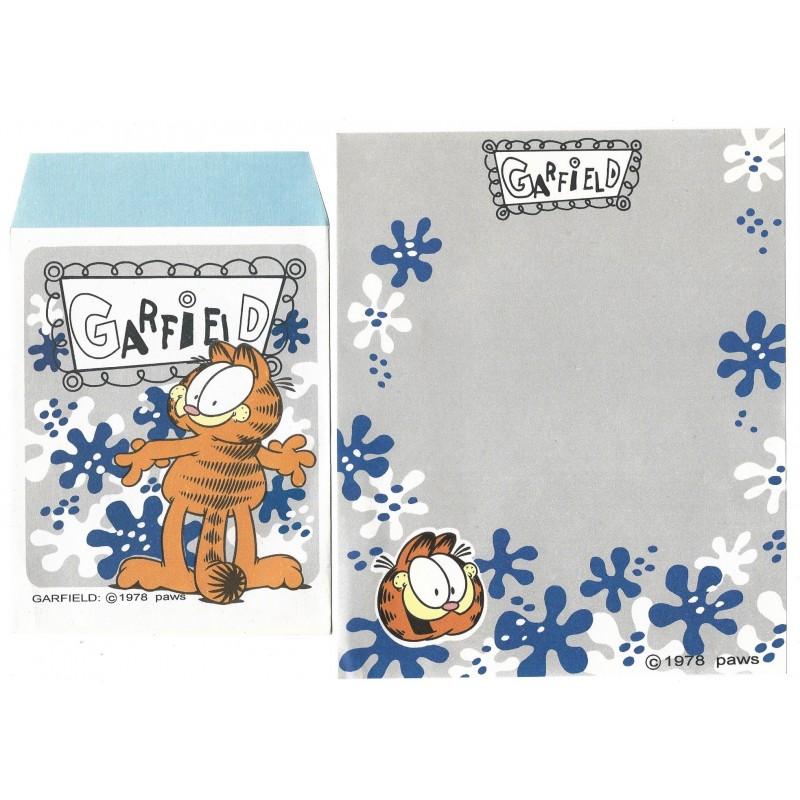 Conjunto de Papel de Carta Garfield CIN - Paws