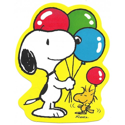 Papel de Carta AVULSO Snoopy CAM Balloons Vintage Hallmark Japan