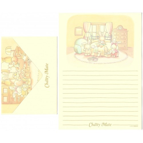 Conjunto de Papel de Carta Antigo (Vintage) Chatty Mate TOMBOW