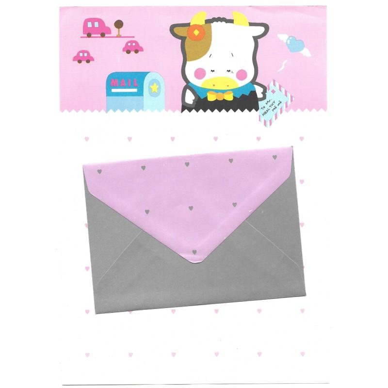 Conjunto de Papel de Carta Vintage Merry Poporin CRS San-X
