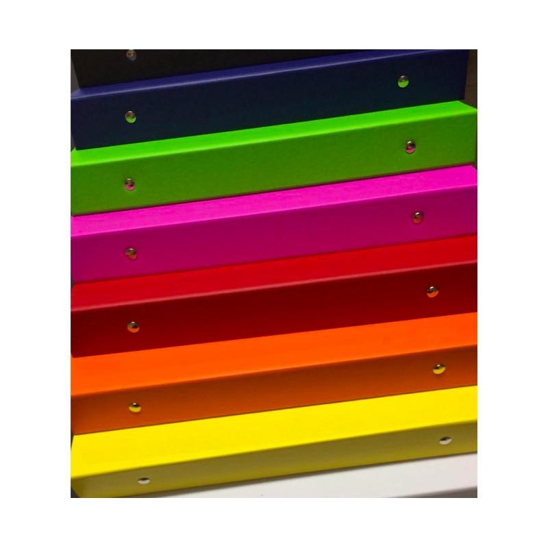 Pasta FICHÁRIO Percalux Colors B5 - VERDE