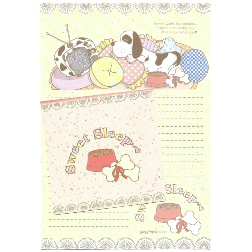 Conjunto de Papel de Carta Importado Sweet Sleep - BS