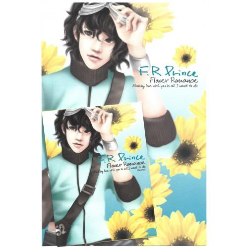 Conjunto de Papel de Carta Importado Flower Romance - Papier
