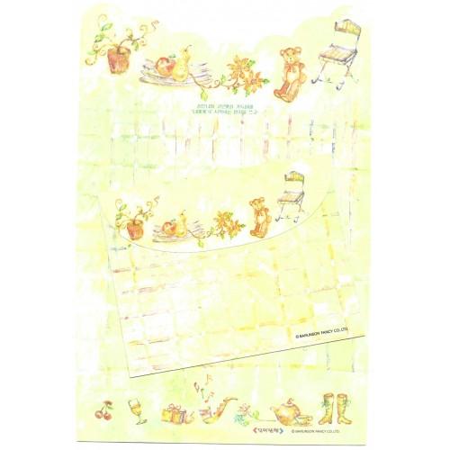Conjunto de Papel de Carta Importado Barunson Fancy CVD