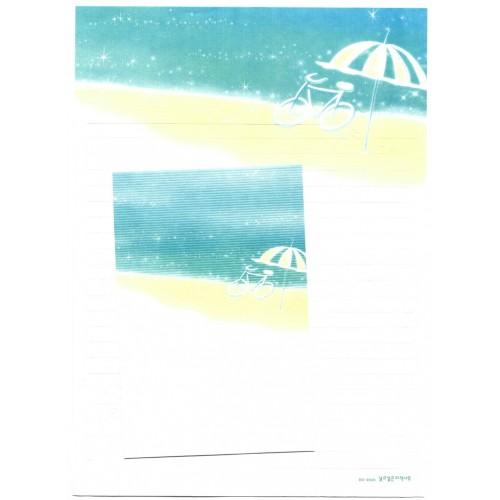 Conjunto de Papel de Carta Importado Beach - BS