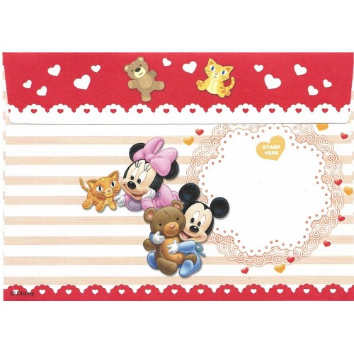 Kit 8 Envelopes AVULSOS Disney Baby Mickey & Friends Sun-Star
