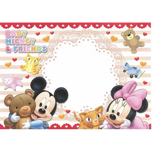 Kit 8 Envelopes AVULSOS Disney Baby Mickey & Friends Sun-Star